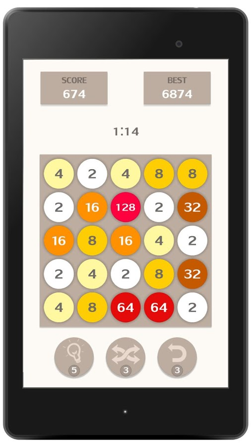 2048 Match 3- screenshot