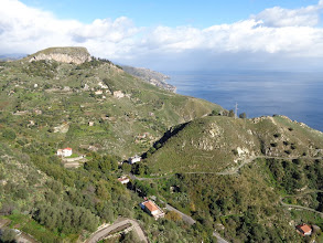 Photo: View from Castelmole to the north