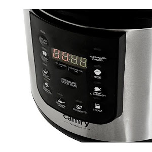 Oala sub presiune si slow cooker Camry 1000 W, CR 6409