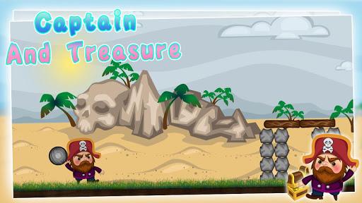 Captain and treasure