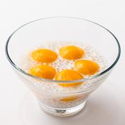 Coconut Cream & Warm Mango Custard Mochi