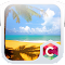 Summer Beach C Launcher Theme file APK Free for PC, smart TV Download