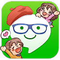 StampFriends -free cute stamps icon