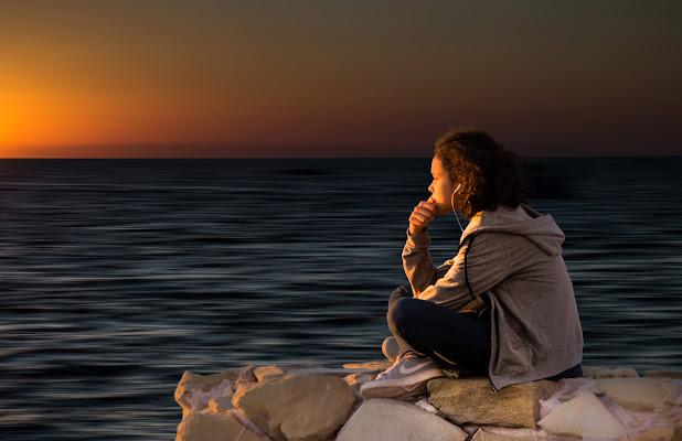 Pensieri al tramonto di enmaster