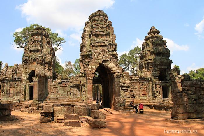 Камбоджа, храмы большого круга Ангкора