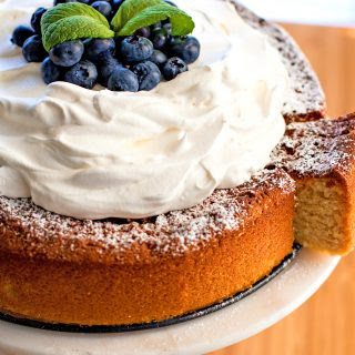 Sweetened Condensed Milk Butter Cake.