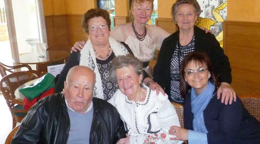 Mojácar, de celebración por una de sus vecinas veteranas: Edna cumple 94 años