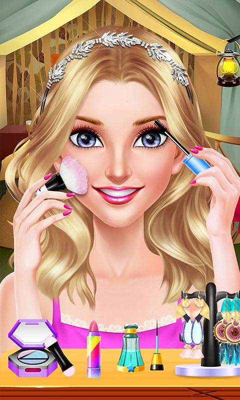 Girls Beach Party Night Salon- screenshot