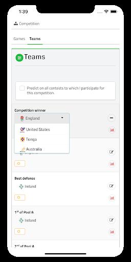 pronocontest - sporting predictions contests screenshot 2