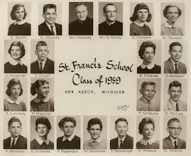 Photo: 8th grade graduating class of 1959
