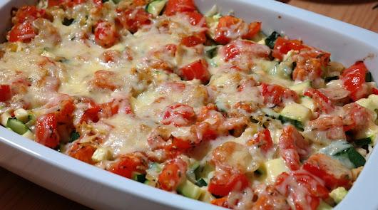 Empieza marzo con una sabrosa receta de verduras al horno con mozarella