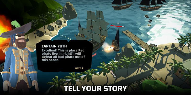 Pirate world Ocean break Screenshot 4