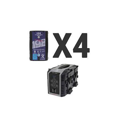 Endura 4x DUO-C198 + 1 x VL-4Se