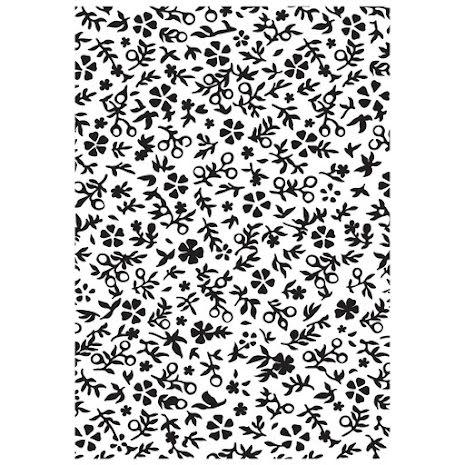 Kaisercraft Embossing Folder 4X6 - Little Floral UTGÅENDE