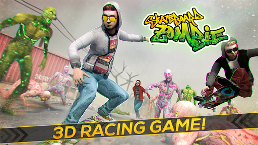 Skateboard Pro Zombie Run 3D 2.11.2 screenshots 7