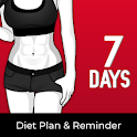Diet Plan for Weight Loss - 7 days Calorie Counter icon