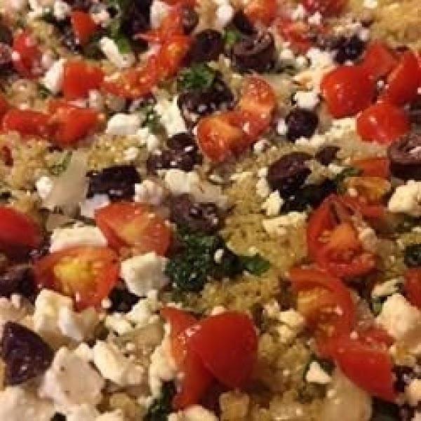 Greek Quinoa Recipe