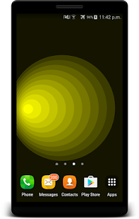 Parallax Circle Live Wallpaper - náhled