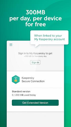 Fast Free VPN – Kaspersky Secure Connection screenshot 4