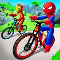 Spider Stickman BMX Fearless Bicycle Stunts icon
