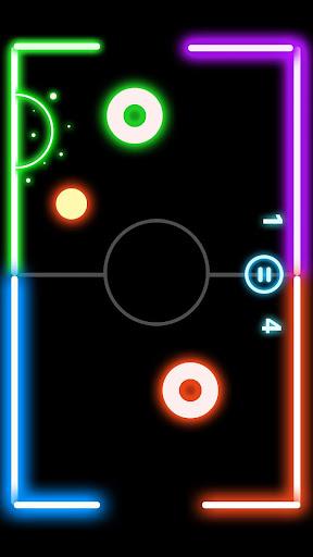 Finger Glow Hockey 1.4.0 screenshots 3