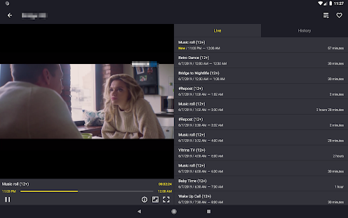 Televizo - IPTV player Screenshot