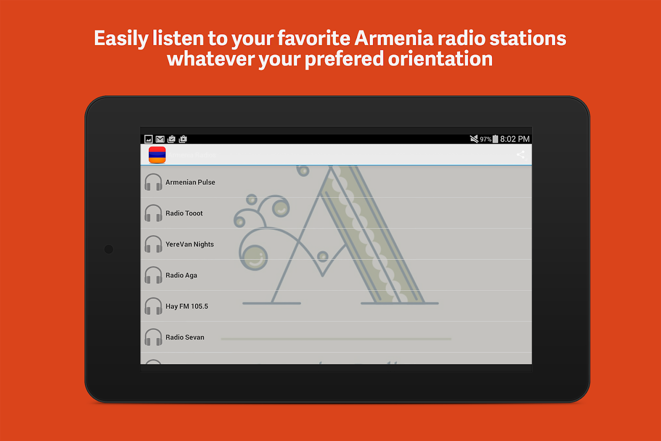 Armenia Radios- screenshot
