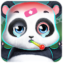 Panda Daycare - Pet Salon & Doctor Game icon
