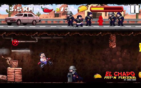 El Chapo - Fat 'n Furious!- screenshot thumbnail