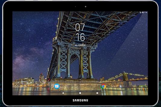 Download Samsung Galaxy S9 Digital Clock Widget Transparent