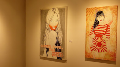 Photo: Galerie 30Works; Sushi Connection; Solo Show MITTENIMWALD; Kanon II & Misaki