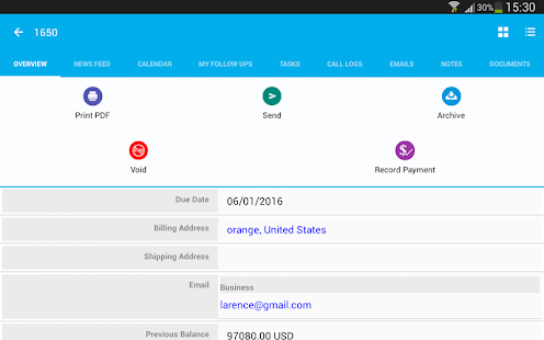 Invoices Android Apps On Google Play - Tiny invoice website