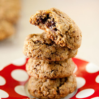 Coconut Walnut Chocolate Chip Brown Butter Cookies.