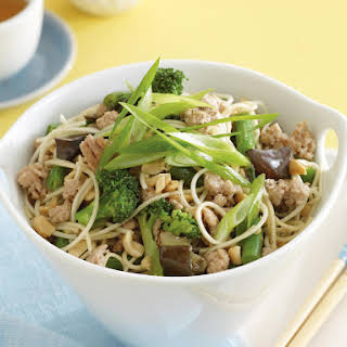 Teriyaki Pork and Vegetable Stir Fry.