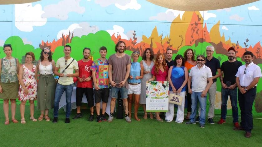Los Huertos Urbanos de Almería acogen los I Premios Gastrovegetales