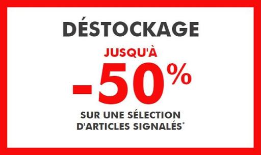 Destockage Gémo