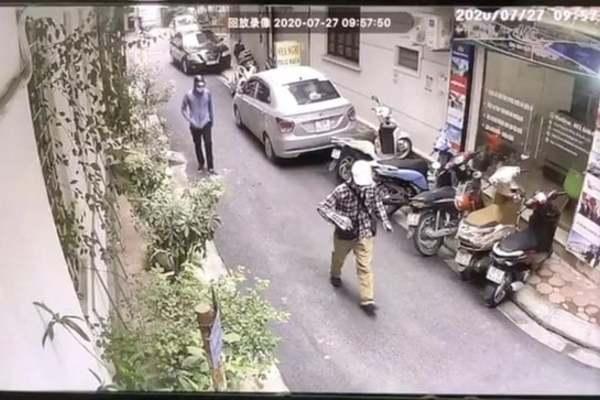 Đã bắt được 2 tay cướp ngân hàng BIDV ở Hà Nội - Ảnh 1