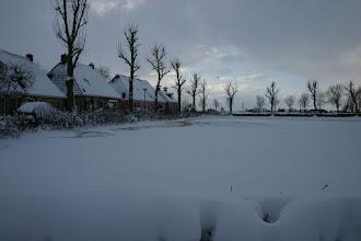 Photo: Weer een sneeuwbui voorbij