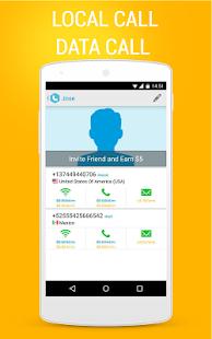 Bluee Free International Calls - screenshot thumbnail