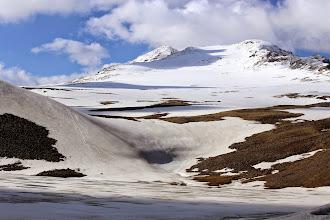 Photo: Aragatsin huippu (yksi niistä)