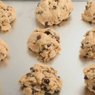 Protein Chocolate Chip Ball Cookies.