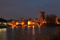 Castel Vecchio by night