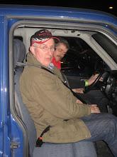 Photo: Chauffeur Frans en navigator