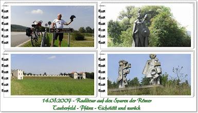 Photo: Fahrradtour auf den Spuren der Römer www.bayernfranz.de
