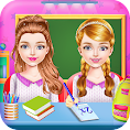 Twins Sisters Girls School First Day at Classroom file APK for Gaming PC/PS3/PS4 Smart TV