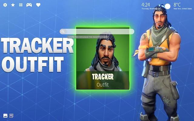 Tracker Skin Fortnite Wallpaper HD