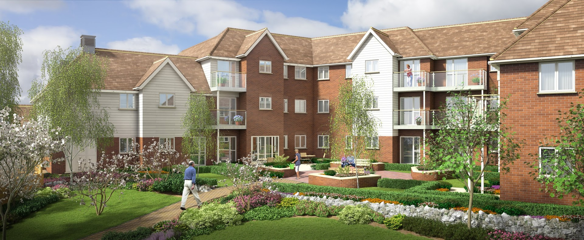 McCarthy and Stone Retirement apartments in Tenterden