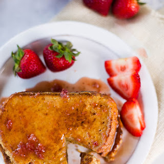 Strawberry French Toast (That's Actually Clean!)