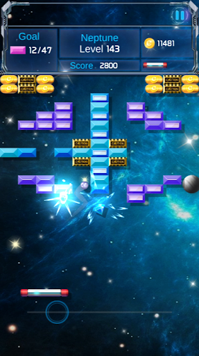 Brick Breaker : Space Outlaw apkpoly screenshots 6