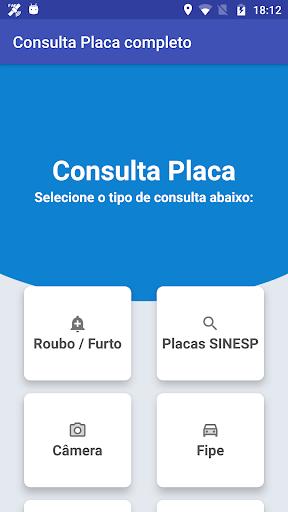 Consulta Placa Completo 1.9.8 screenshots 1